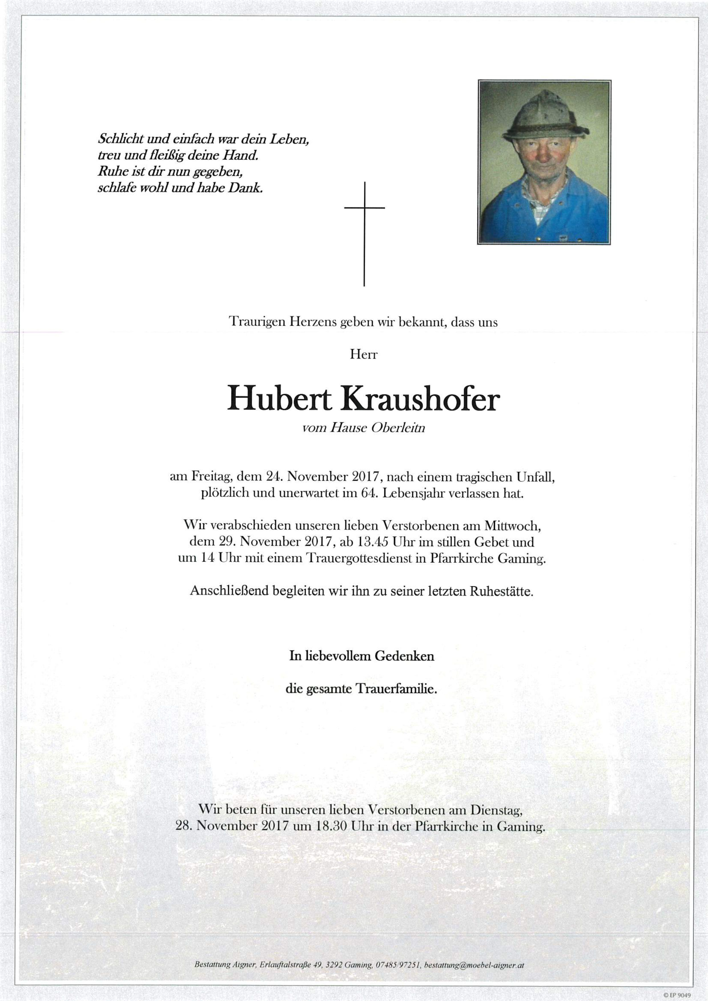 Hubert Kraushofer